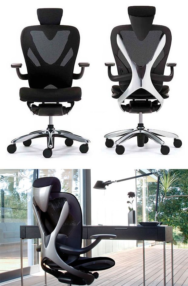 Vaya Chair -- Created by award-winning designer Ken Okuyama, who put his.  Most Comfortable Office ChairPorsche ...