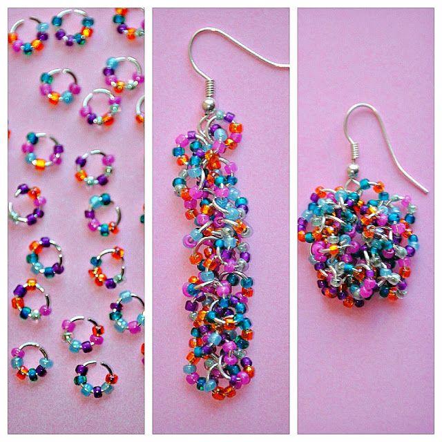 Easy Seed Bead Earrings