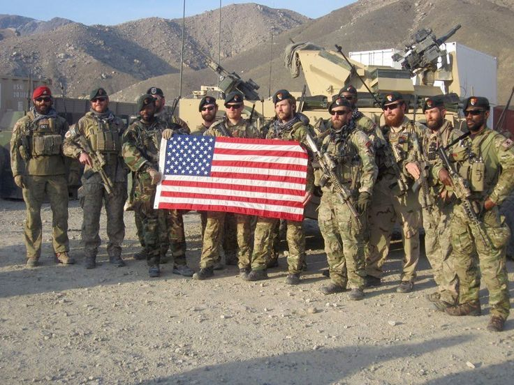 U.S. Army 3rd Special Forces Group and an Airforce CCT in Afghanistan. [960x720]