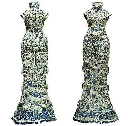Необычные китайские платья фото