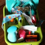 Graduation gift idea - a Going Away to College Gift Box.