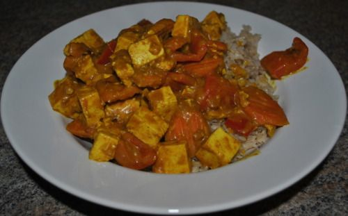 Panang Tofu Curry | ingestables | Pinterest