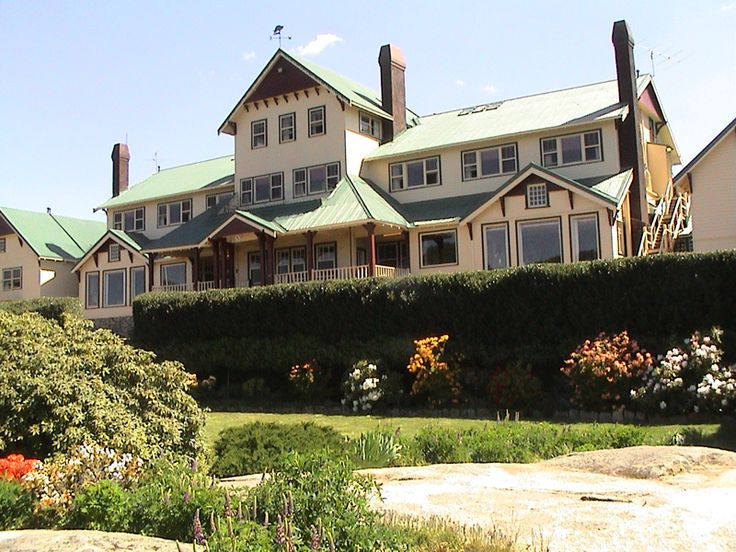 The Chalet, Mt Buffalo, in the Australian Alps in Victoria.  It felt like staying in an Agatha Christie novel!