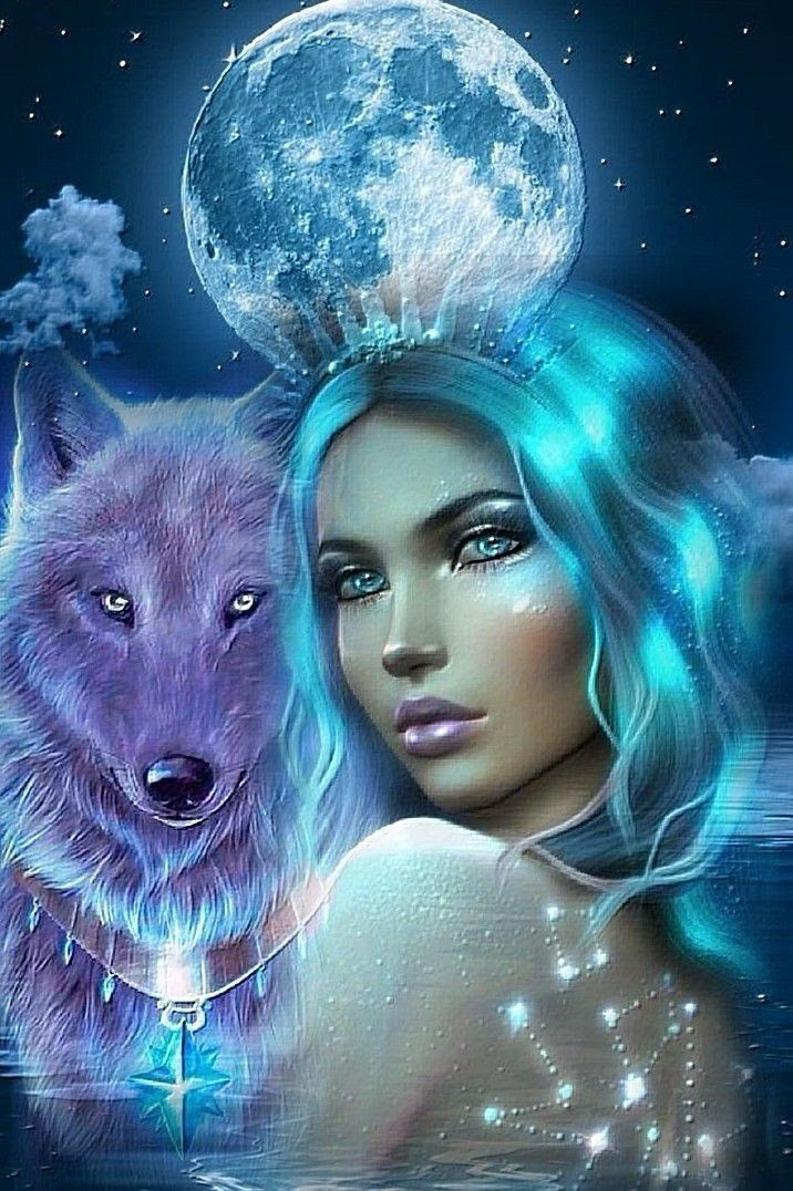 Pin By Persia Shipley On Women Wolves Wolf Art Fantasy Wolf Spirit Animal Wolves And Women