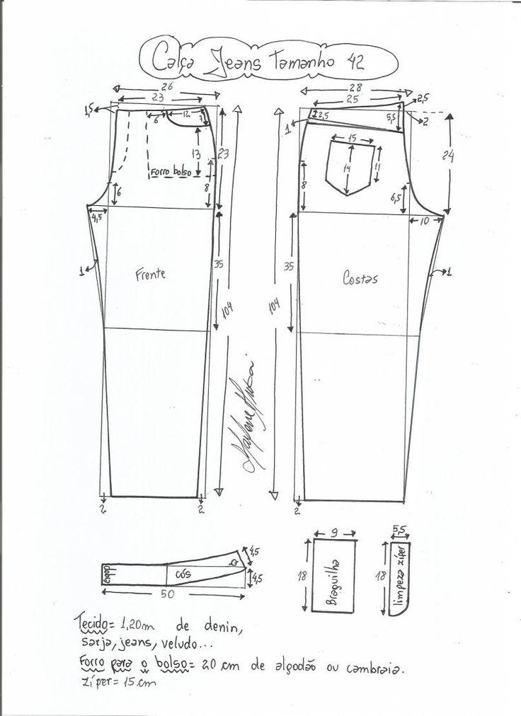jeans - cintura media-42