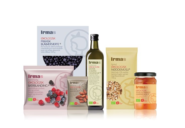 Irma Private Label: Organic food on Behance