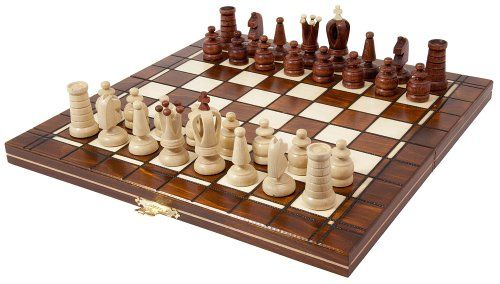 Jeu d'échecs en bois SALOMON - 32 X 32 cm ALBATROS INTERNATIONAL http://www.amazon.fr/dp/B002QE93V0/ref=cm_sw_r_pi_dp_w0Qewb1BSE8YK