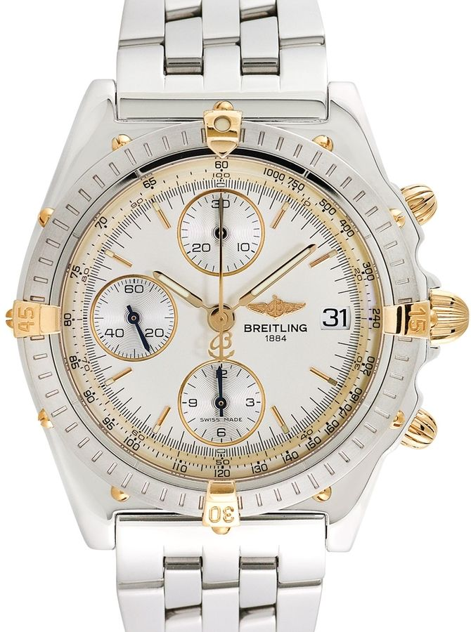 Breitling Watches Men's Breitling Chronomat Vitesse 18K Yellow gold and Stainless Steel Watch, 40mm