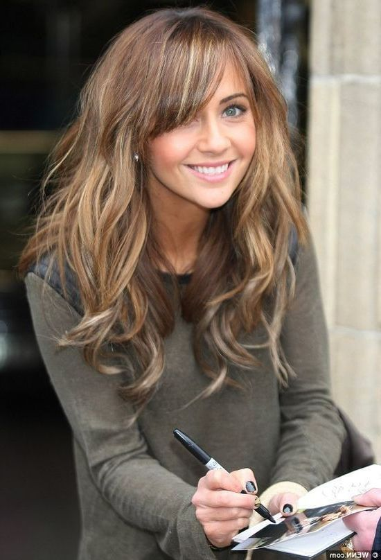Shoulder Length Hairstyles For Dark Brown Hair : 127 best beauty images on pinterest