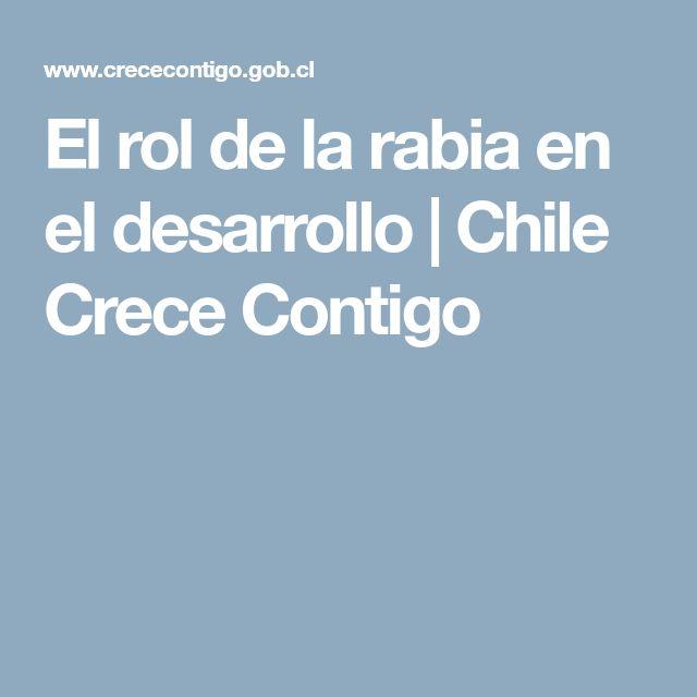 El rol de la rabia en el desarrollo | Chile Crece Contigo