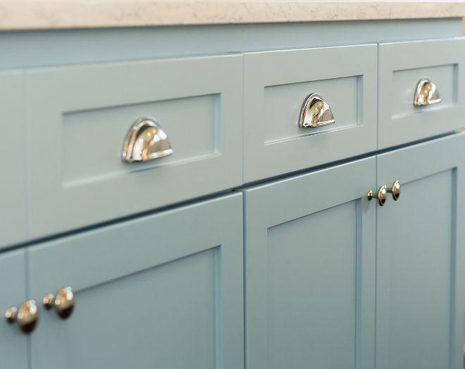 Sherwin Williams Sw9061 Rest Assured Blue Kitchen Island Paint Color Sherwin Williams S Best Kitchen Cabinet Paint Kitchen Cabinet Styles Best Kitchen Cabinets