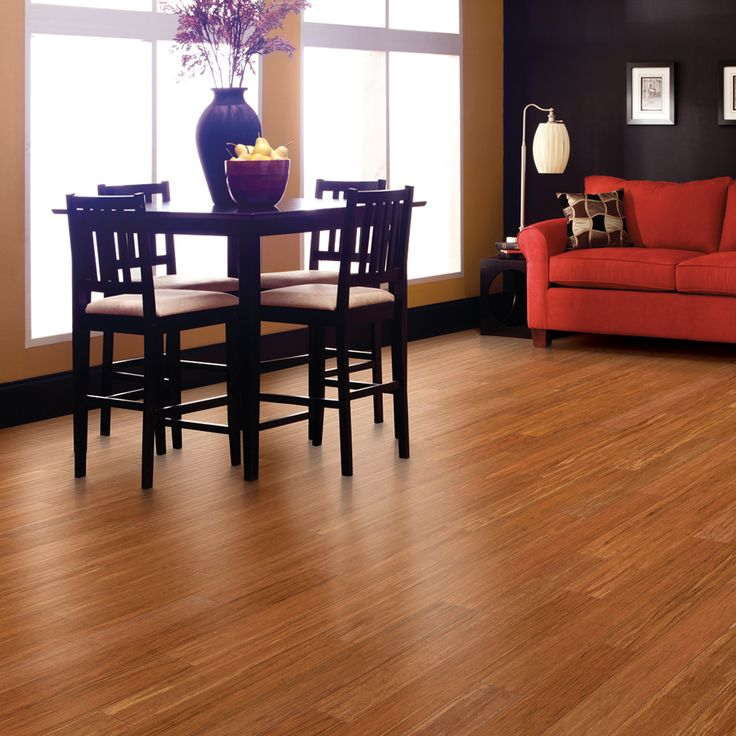 Engineered Bamboo Hardwood Flooring In Spice