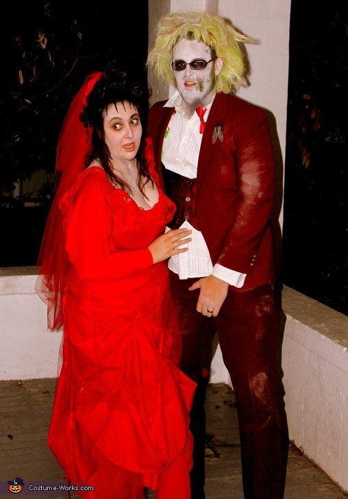 Halloween Couples Costume Ideas 2012 | POPSUGAR Love & Sex  Beetle juice and Lydia