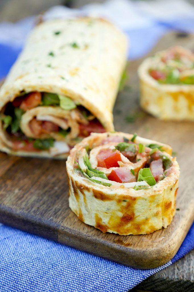 Low Carb Pizza Roll – ein schnelles und gesundes Low Carb Rezept – ein Gaumenfreund …   – GAUMENFREUNDIN FOODBLOG