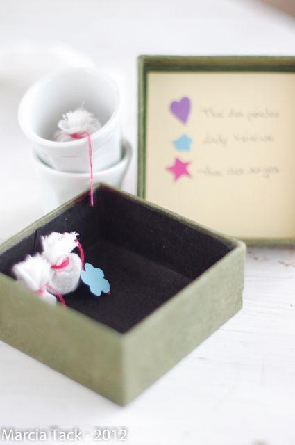 Comment fabriquer de jolis sachets de thé ? -DIY- Marcia Tack