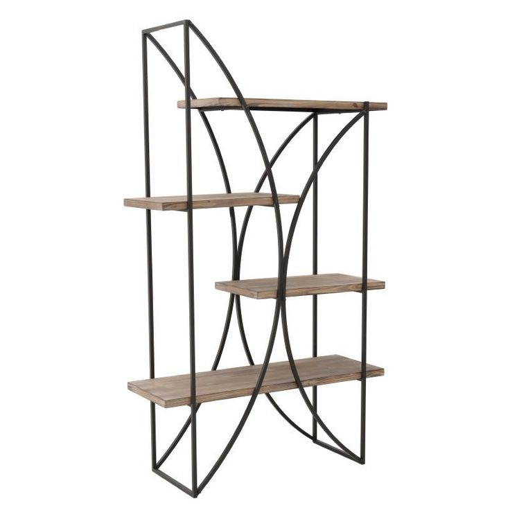 Metallic Shelf - Shelves - Bookshelves - FURNITURE - inart