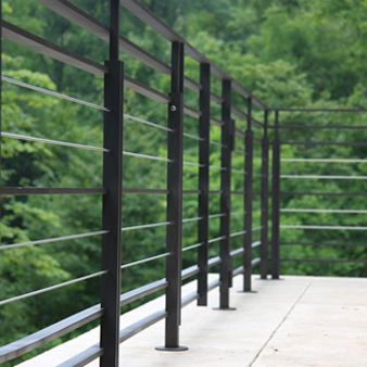 modern traditional outdoor railings - Google Search
