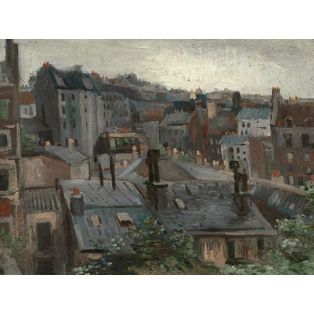 Reprodukcje obrazów Vincent van Gogh View from Vincent's Studio - Fedkolor