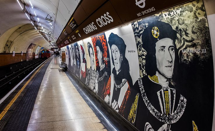 Platform - Charing Cross Underground Station (Fuji X70 Compact with 21mm wide lens adaptor)   by markdbaynham