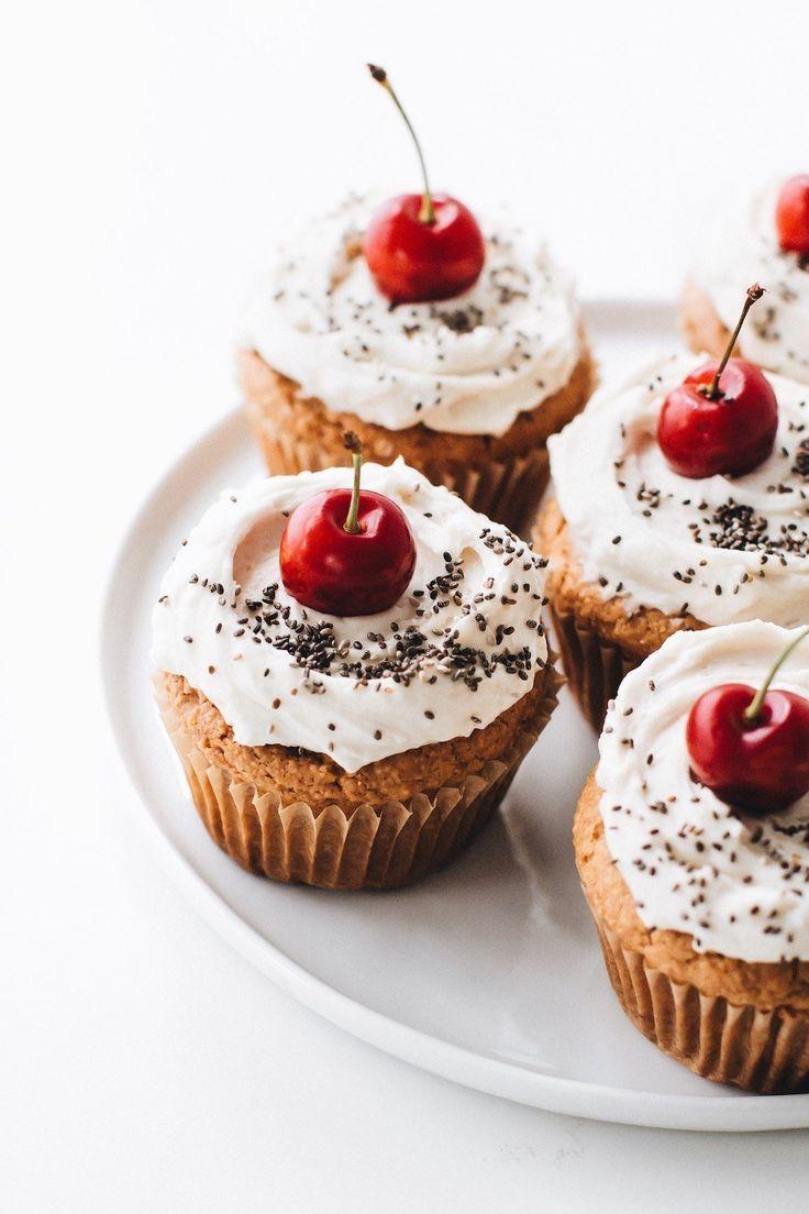 Vegan Vanilla Cupcakes Recipe Vegan Dessert Recipes Vegan