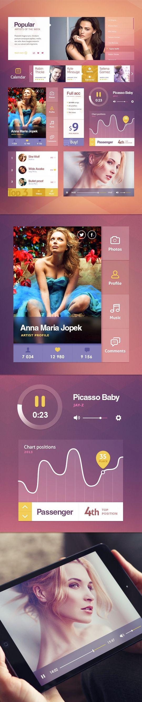 pinterest.com/fra411 #UI - Portfolio 2012-2013 | UI Concepts on Behance