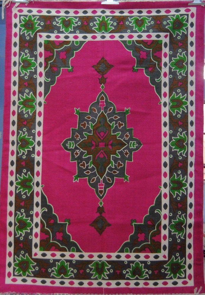 Jaipuri Handmade Floor 4*6 Square Foot Designer Printed Cotton Christmas Rugs #Handmade #RagRug