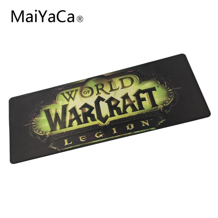 MaiYaCa Original Design Computer Speed Mouse Pads World of Warcraft Legion Gaming Mouse Pad Rubber Gamer Soft Comfort Mouse Mat