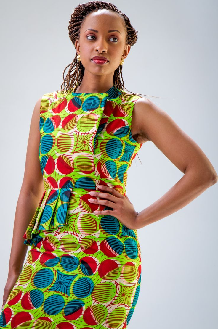Wow ....this is one for me. Beautiful Ankara Dress