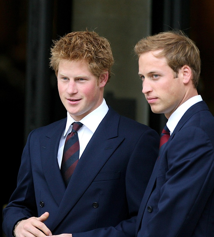 Princes, Harry and William