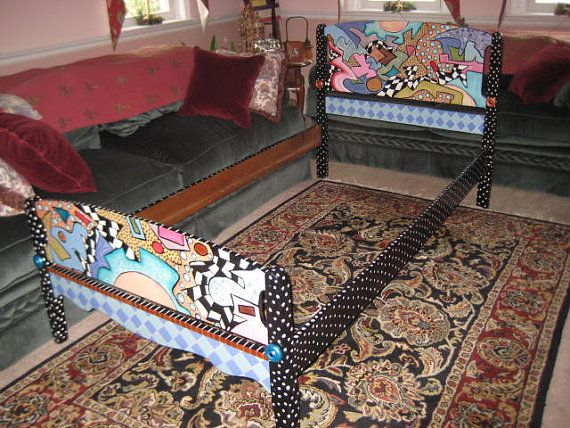 Vintage Twin Bed By Designedbylainie On Etsy