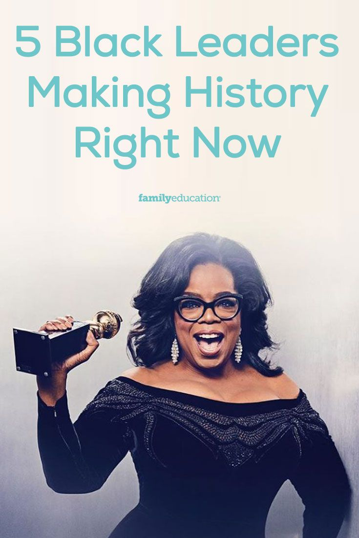 During Black History Month, we teach our children about iconic leaders who have advanced the cause of civil rights and equality for black citizens. Names like Martin Luther King, Jr., Rosa Parks and Harriet Tubman come to mind.  But who is helping to advance that cause and the fight for equality for all today? Here are 5 black figures making history now.