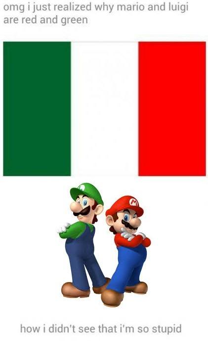 """Mario and Luigi color origin? What I said when I first saw this: """"*Gaaaaaaaaaaasp!*"""""""