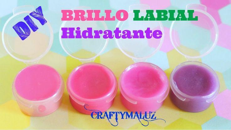 HAZ UN BRILLO LABIAL Hidratante con color | BRILLO LABIAL/ BÁLSAMO casero