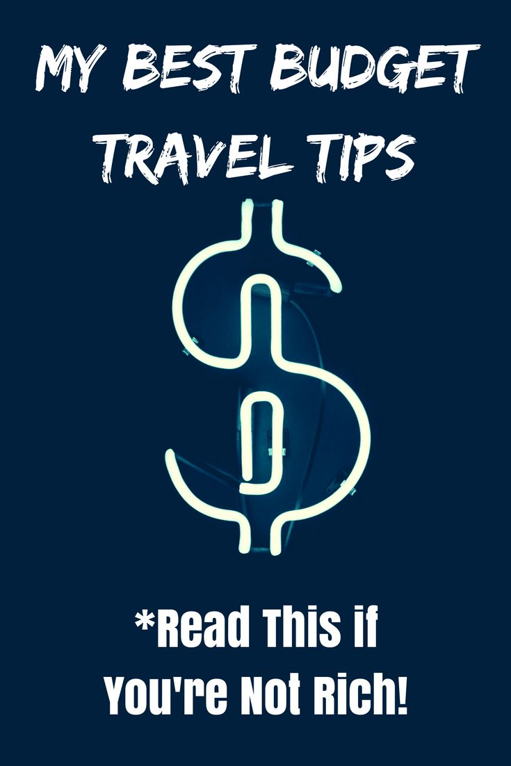 Careful not to go broke on your holiday! Use my best budget travel tips.