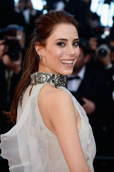 Actress and Model Cansu Dere attends the 'La Venus A La Fourrure' premiere during The 66th Annual Cannes Film Festival at the Palais des Festivals on May 25, 2013 in Cannes, France.