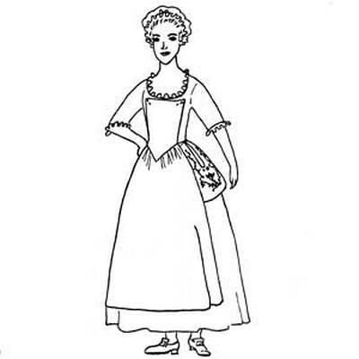 Miri C3 B1aque together with Church besides R C3 A9tro Ligne Art Dessin Femme 1310390 in addition Colonial Williamsburg likewise Clipart 26400. on 1700s drawings
