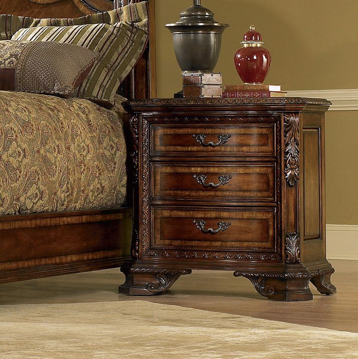 Old World Estate Wingback Bedroom Collection | Wayfair