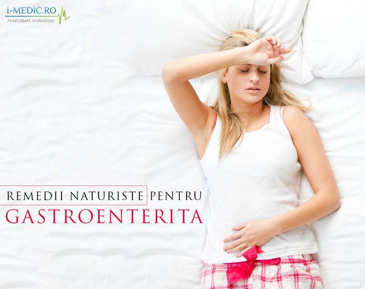 Gastroenterita este o infectie virala care cauzeaza inflamarea stomacului si a intestinelor. Gastroenterita este o afectiune contagioasa cauzata de apa sau mancare contaminata. -  http://www.i-medic.ro/remedii/remedii-naturiste-pentru-gastroenterita