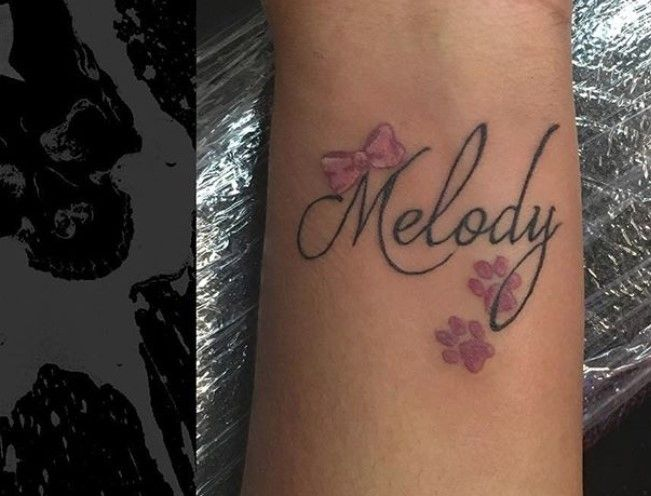 20 Best Dog Name Tattoo Designs The Paws Name Tattoo Designs Tattoo Designs Tattoos