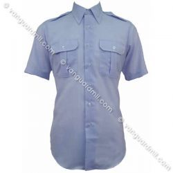 Men's short sleeve shirt. The shirt is available from Vanguard; it's a standard AF uniform item (CAP members wear the same one that AF officers do), so it's readily available from other suppliers too.
