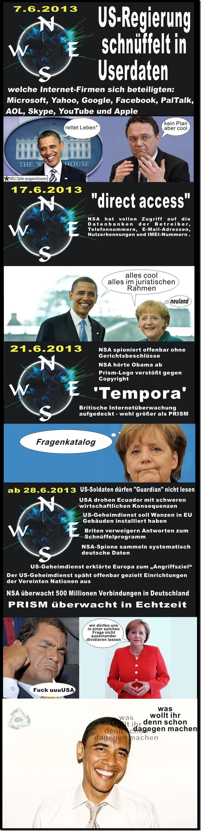 Prism Timeline  #Bilder #Datenschutz #Datenspeicherung #Deutschland #Eigentum #EU #Facebook #ferngesteuert #google #Information #Internet #Irrsinn #Medien #Microsoft #Netzwerk #News #NSA #politik #Prism #Rechtsstaat #Tempora #UN #USA #Wissen