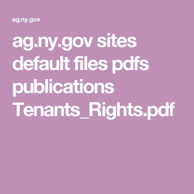 ag.ny.gov sites default files pdfs publications Tenants_Rights.pdf
