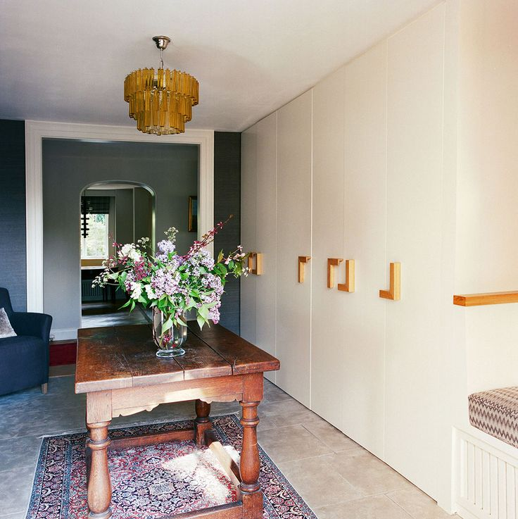 Bespoke Joinery - Design by Robinson van Noort - Hallway - Entrance Hallway - Country Residential Design, London - Mead House