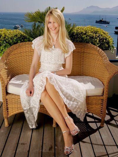 """Schiffer auf der """"Elle Magazine 21st Anniversary Party"""" im Versace Store in London 2006."""