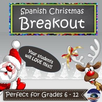 "Are you wondering what to do to keep your students engaged before the much needed Holiday break? Then this Breakout is for YOU!! Make sure to click on ""PREVIEW"" to see the detailed preview of this Breakout! It's a tragedy - all the Christmas gifts are locked up!"