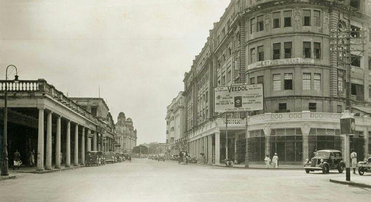 Calcutta Park Street- 1930.