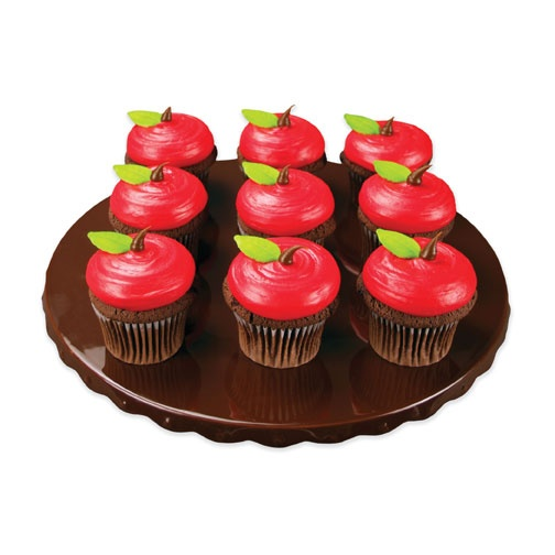 Red Apple cupcakes - Lucks Food Decorating Company - Cake Decorations and Cake Decorating Ideas