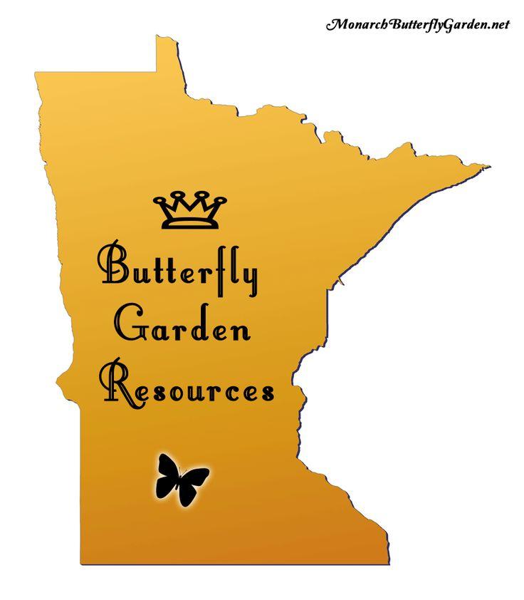 Minnesota Butterfly Garden Resources