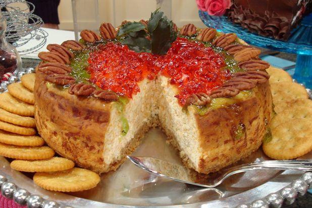 Savory Pepper Jelly Cheesecake Recipe
