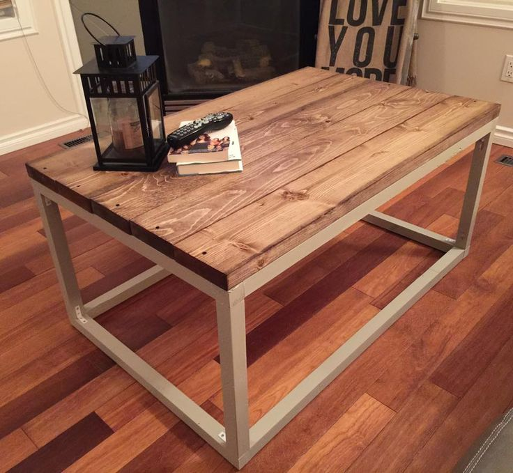 Diy Shabby Chic Coffee Table: Rustic Home Decor